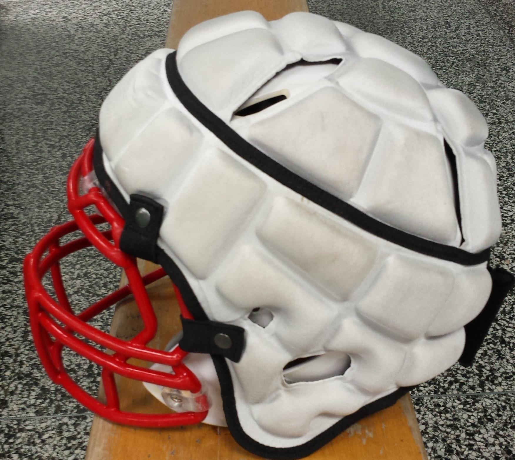 Football Team Adopts New Protective Headgear