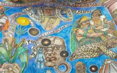 Incredible Mural Art at the National Hispanic Cultural Center