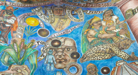 Incredible Mural Art at the National Hispanic Cultural Center