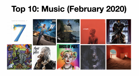 Top 10 Music Releases (February 2020)