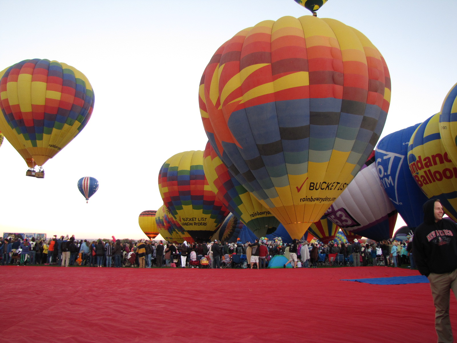 Balloon Fiesta Brings the World to Albuquerque