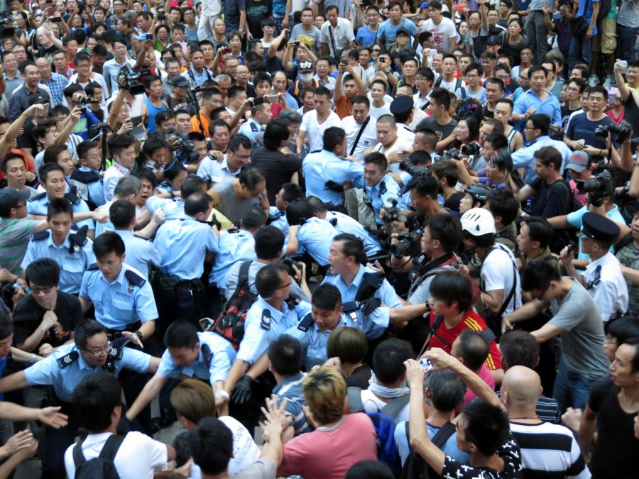 Chinese students give their perspectives on Hong Kong protests
