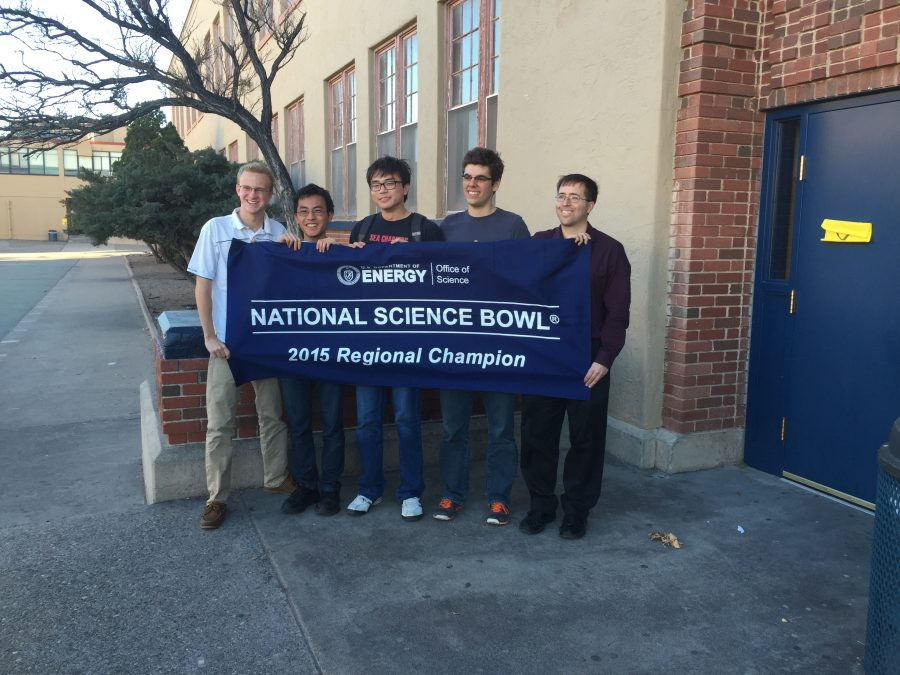 Academy Science Bowl team places first at regional competition