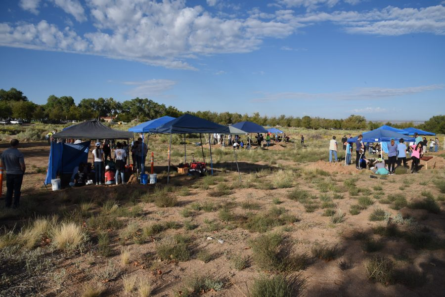 Unearthing ancient civilizations- inside the eighth grade Dig