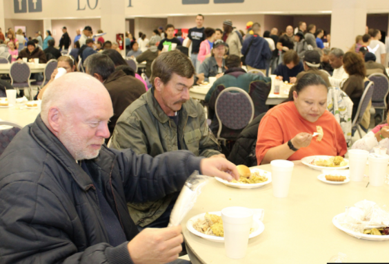 Shelters provide holiday cheer for the less fortunate