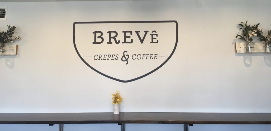 Serenity comes with the crepes at Breve