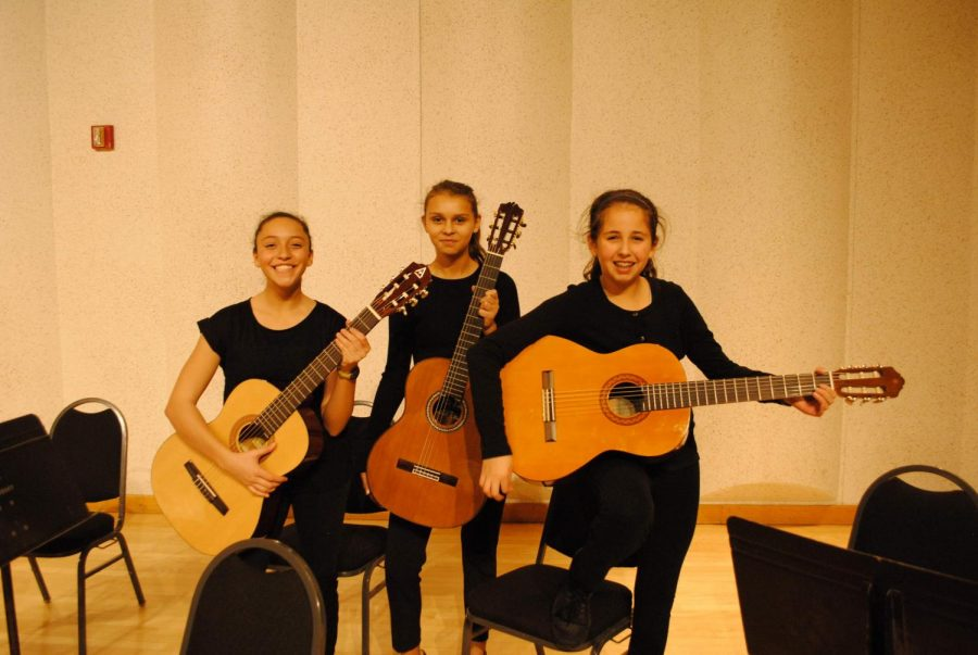 Academy Students Showcase Talent in Guitar Concert