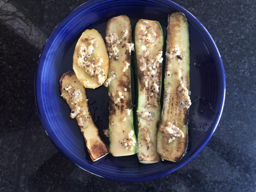 Dish of the Week: Seared Zucchini and Squash Strips!