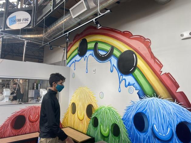 Mural by Nitro Fog