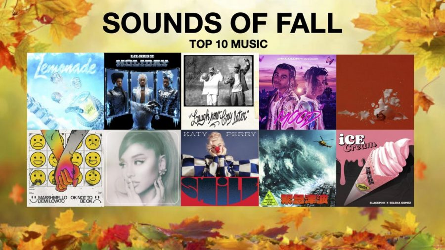 Sounds of Fall (Top 10 Music)