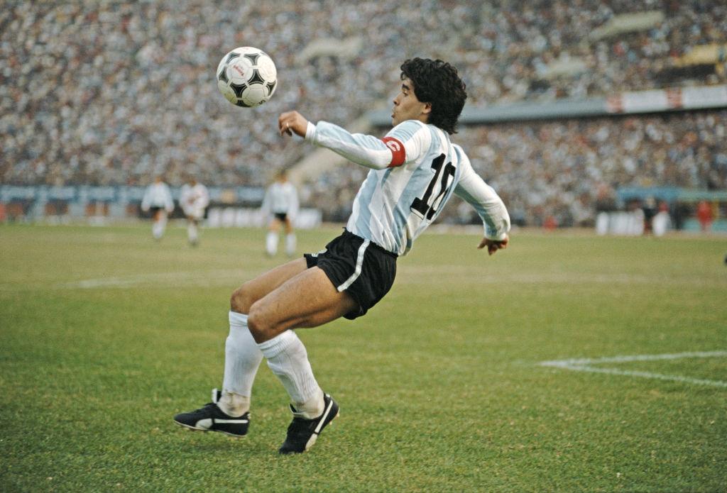Diego+Maradona+dies+at+60