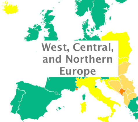 West, Central, and Northern Europe