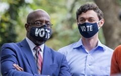 Raphael Warnock (L) and Jon Ossoff, unexpected winners in the Georgia Senate races.