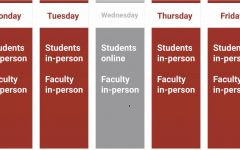 New weekly school schedule
