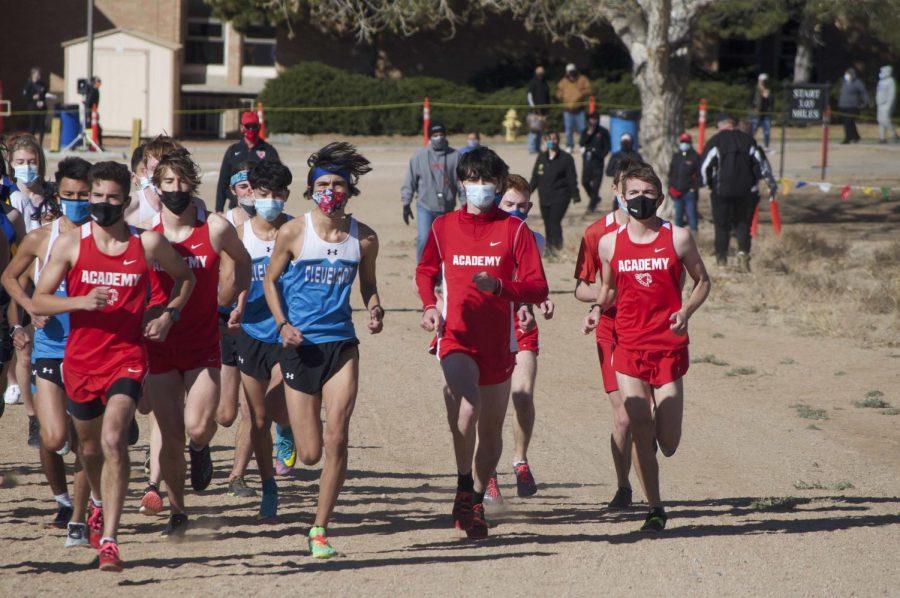 Start of the boys race