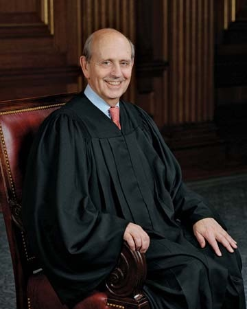 Appointed in 1994, Stephen Breyer is now 82 years old.